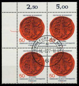 BRD 1977 Nr 946 zentrisch gestempelt VIERERBLOCK ECKE-OLI 7EB0B6