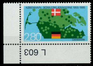 DÄNEMARK 1985 Nr 829 postfrisch ECKE-ULI 7EC9DA