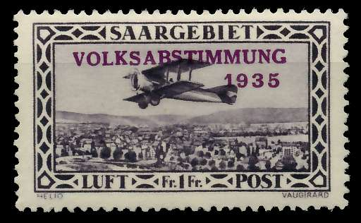 SAARGEBIET 1934 Nr 197 ungebraucht 78B0D2
