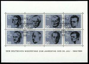 BRD BLOCK KLEINBOGEN 1949 1989 Block 3 ESST-BON S5C0932