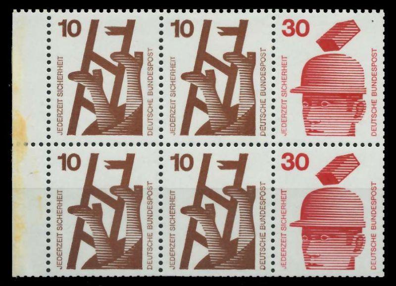 BRD HB Nr H-Blatt 21 postfrisch 801B36