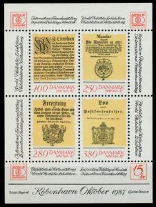 DÄNEMARK Block 4 postfrisch S0196B2