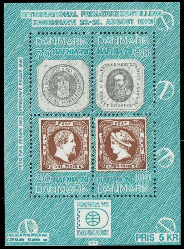 DÄNEMARK Block 1 postfrisch S019692