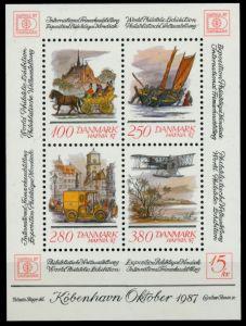 DÄNEMARK Block 5 postfrisch S0196BA