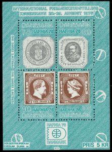 DÄNEMARK Block 1 postfrisch S01969A
