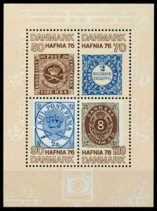 DÄNEMARK Block 2 postfrisch S01967E