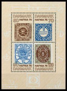 DÄNEMARK Block 2 postfrisch S019682