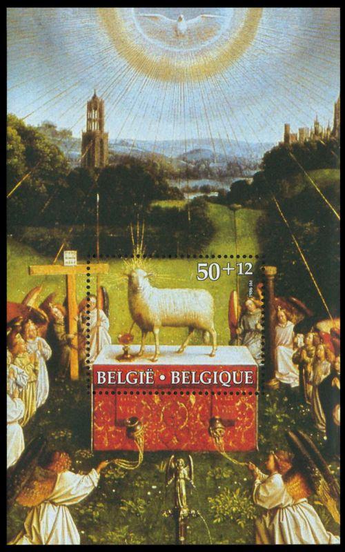 BELGIEN Block 56 postfrisch S01971A