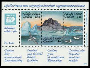 GRÖNLAND Block 1 postfrisch S01965A