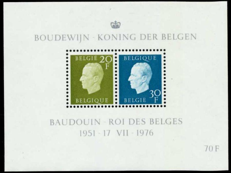 BELGIEN Block 45 postfrisch S0196EA