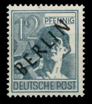 BERLIN 1948 Nr 5x postfrisch gepr. 6C3D42