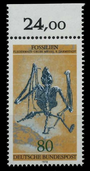 BRD 1978 Nr 974 postfrisch ORA 8054BE