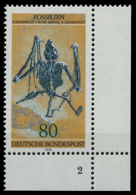 BRD 1978 Nr 974 postfrisch FORMNUMMER 2 8054DA