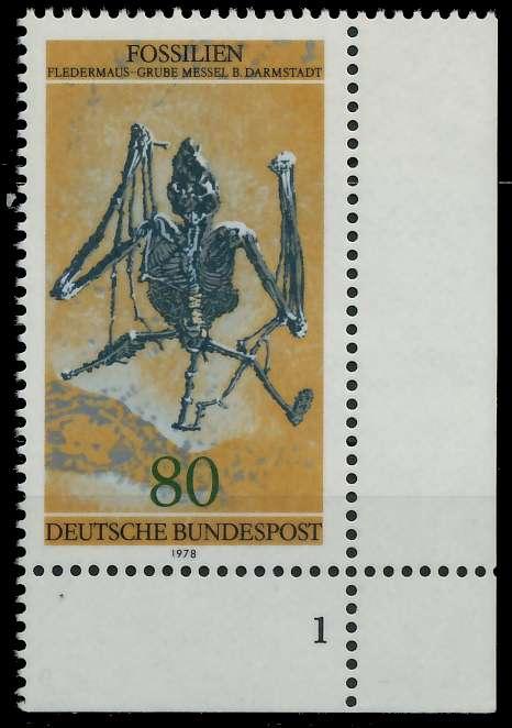 BRD 1978 Nr 974 postfrisch FORMNUMMER 1 80550E
