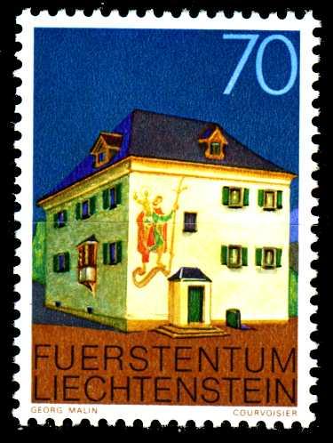 LIECHTENSTEIN 1978 Nr 699 postfrisch SB45FAA