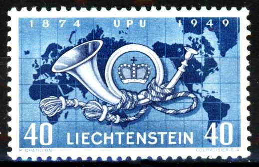 LIECHTENSTEIN 1949 Nr 277 ungebraucht 16B6D2