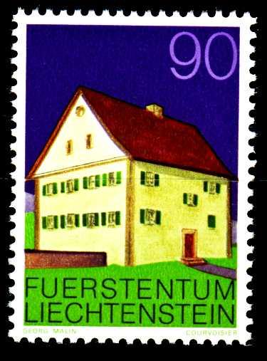 LIECHTENSTEIN 1978 Nr 701 postfrisch SB45FBA