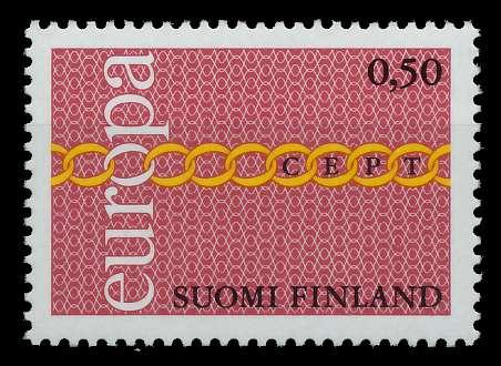 FINNLAND 1971 Nr 689 postfrisch 809BA2