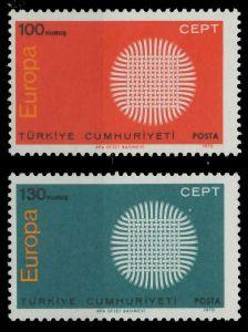 TÜRKEI 1970 Nr 2179-2180 postfrisch 809BCE