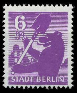 SBZ BERL. BRANDENB. Nr 2Aauy postfrisch 8103A6