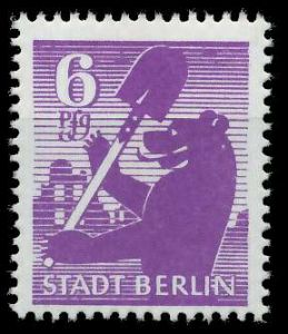 SBZ BERL. BRANDENB. Nr 2Aauy postfrisch 8103C2