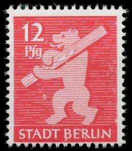 SBZ BERL. BRANDENB. Nr 5AAux postfrisch 810442
