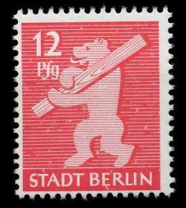 SBZ BERL. BRANDENB. Nr 5AAux postfrisch 810446