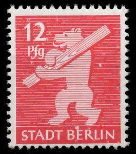SBZ BERL. BRANDENB. Nr 5AAux postfrisch 81044A