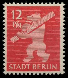 SBZ BERL. BRANDENB. Nr 5AAwbz postfrisch 810452