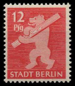 SBZ BERL. BRANDENB. Nr 5AAwbz postfrisch 810456