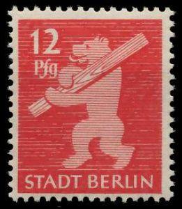 SBZ BERL. BRANDENB. Nr 5AAwbz postfrisch 810462