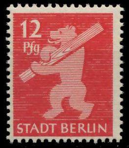 SBZ BERL. BRANDENB. Nr 5AAwbz postfrisch 81046E