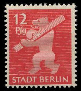 SBZ BERL. BRANDENB. Nr 5AAwbz postfrisch 810472
