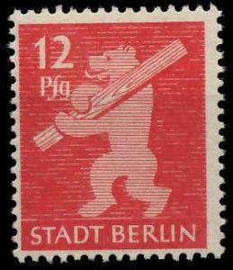 SBZ BERL. BRANDENB. Nr 5AAwbz postfrisch 810476