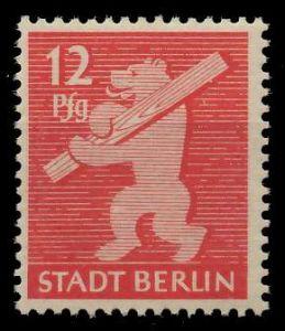 SBZ BERL. BRANDENB. Nr 5AAwaz postfrisch 81047E