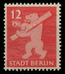 SBZ BERL. BRANDENB. Nr 5AAwaz postfrisch 810482
