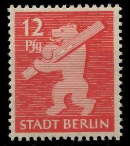 SBZ BERL. BRANDENB. Nr 5AAwaz postfrisch 81048A