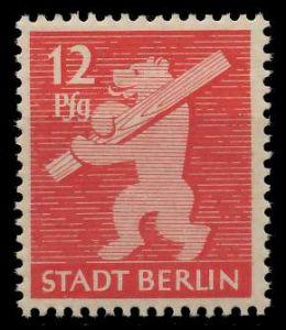 SBZ BERL. BRANDENB. Nr 5AAwaz postfrisch 81048E