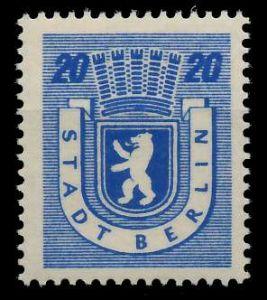 SBZ BERL. BRANDENB. Nr 6Awbz postfrisch 81049E