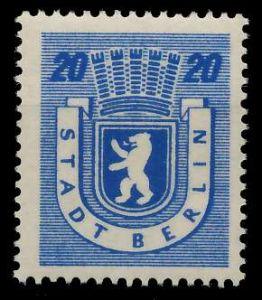 SBZ BERL. BRANDENB. Nr 6Awbz postfrisch 8104A2