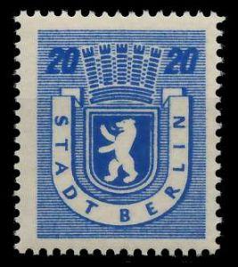SBZ BERL. BRANDENB. Nr 6Awbz postfrisch 8104BA
