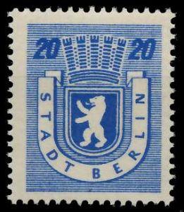 SBZ BERL. BRANDENB. Nr 6Awbz postfrisch 8104BE