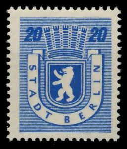 SBZ BERL. BRANDENB. Nr 6Awbz postfrisch 8104C2