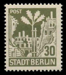 SBZ BERL. BRANDENB. Nr 7Aawbz postfrisch 8104C6