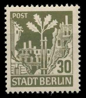 SBZ BERL. BRANDENB. Nr 7Aawbz postfrisch 8104D2