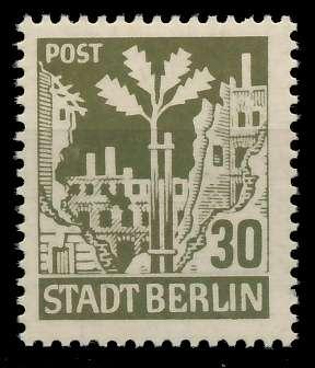 SBZ BERL. BRANDENB. Nr 7Aawbz postfrisch 8104DA