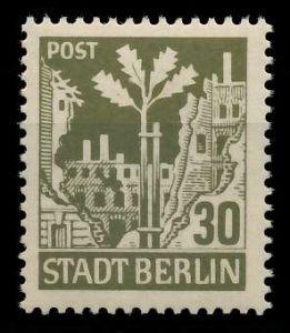 SBZ BERL. BRANDENB. Nr 7Aawbz postfrisch 8104E2