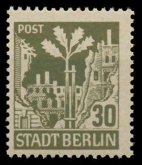 SBZ BERL. BRANDENB. Nr 7Aawaz postfrisch 8104EE