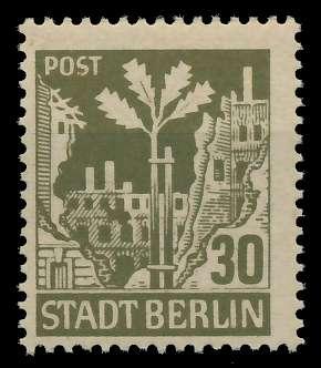 SBZ BERL. BRANDENB. Nr 7Aawaz postfrisch 8114D6