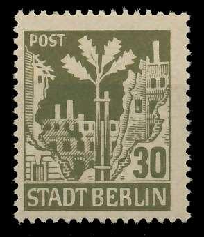 SBZ BERL. BRANDENB. Nr 7Aawaz postfrisch 8114E2